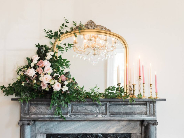 21 Wedding Fireplace Decor Ideas to Transform Any Mantel
