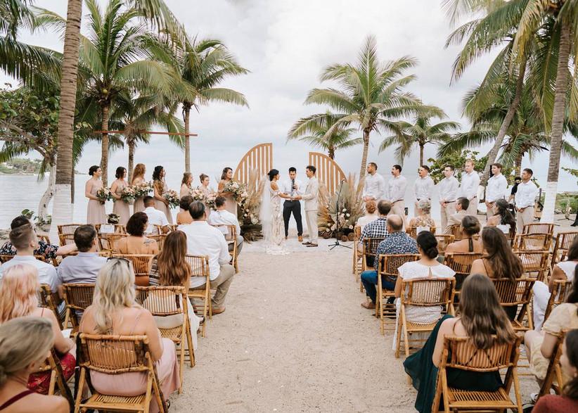 tulum destination wedding ceremony