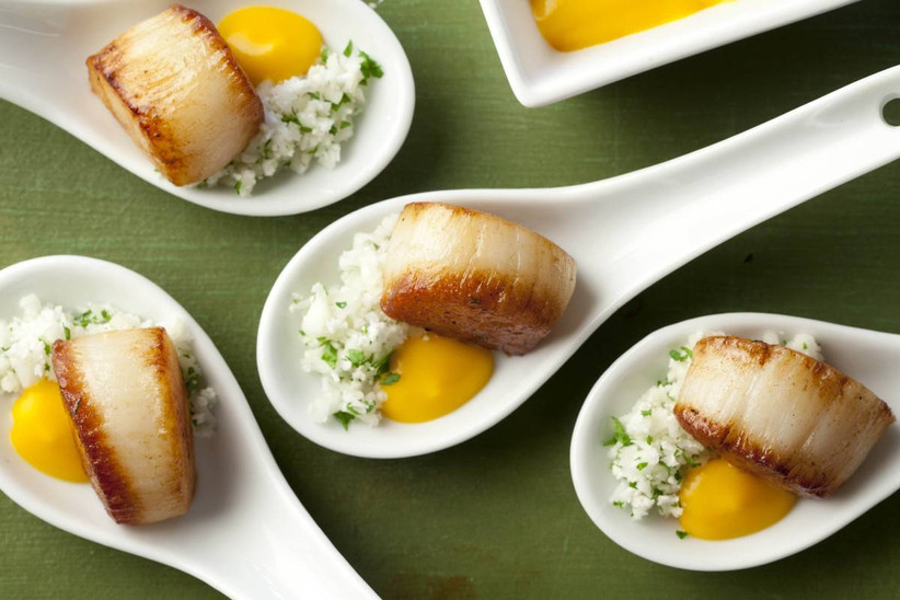 scallops hors d'oeuvres