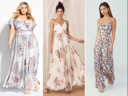 30 Floral Bridesmaid Dresses That Are Fresh and Fun