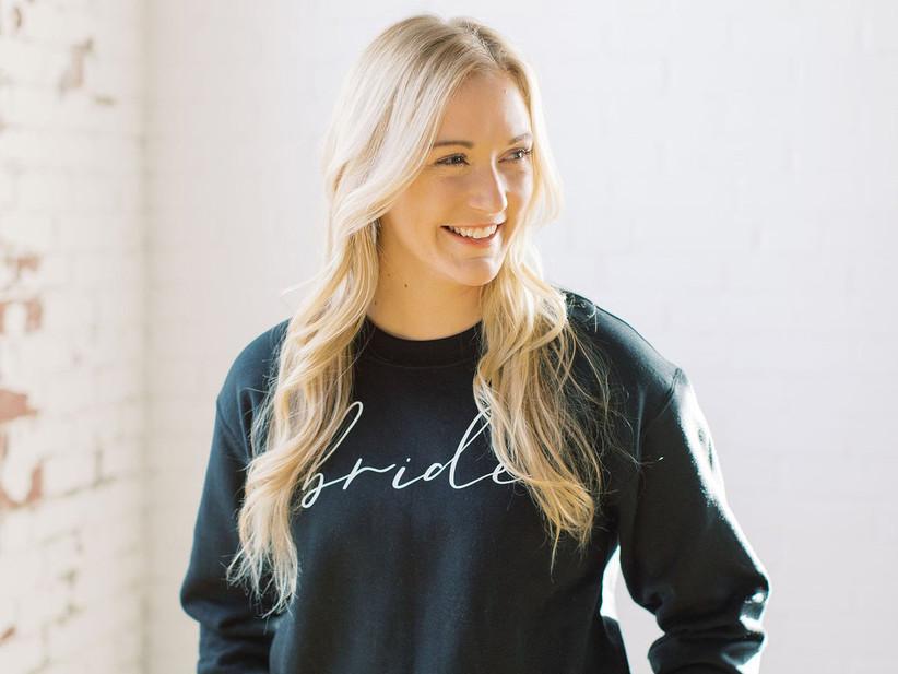 black bride crewneck sweatshirt