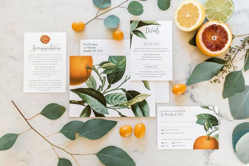 wedding stationery list