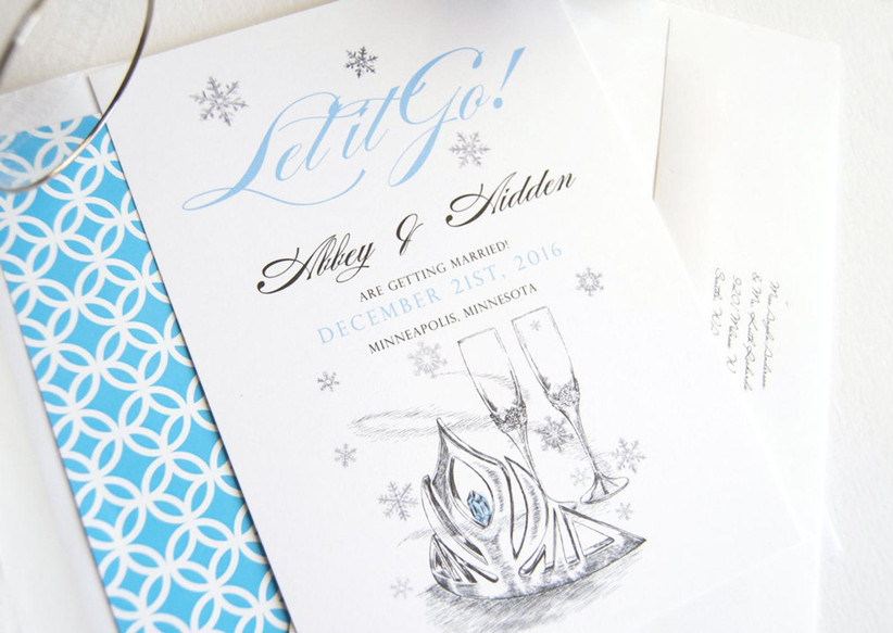 frozen save the dates