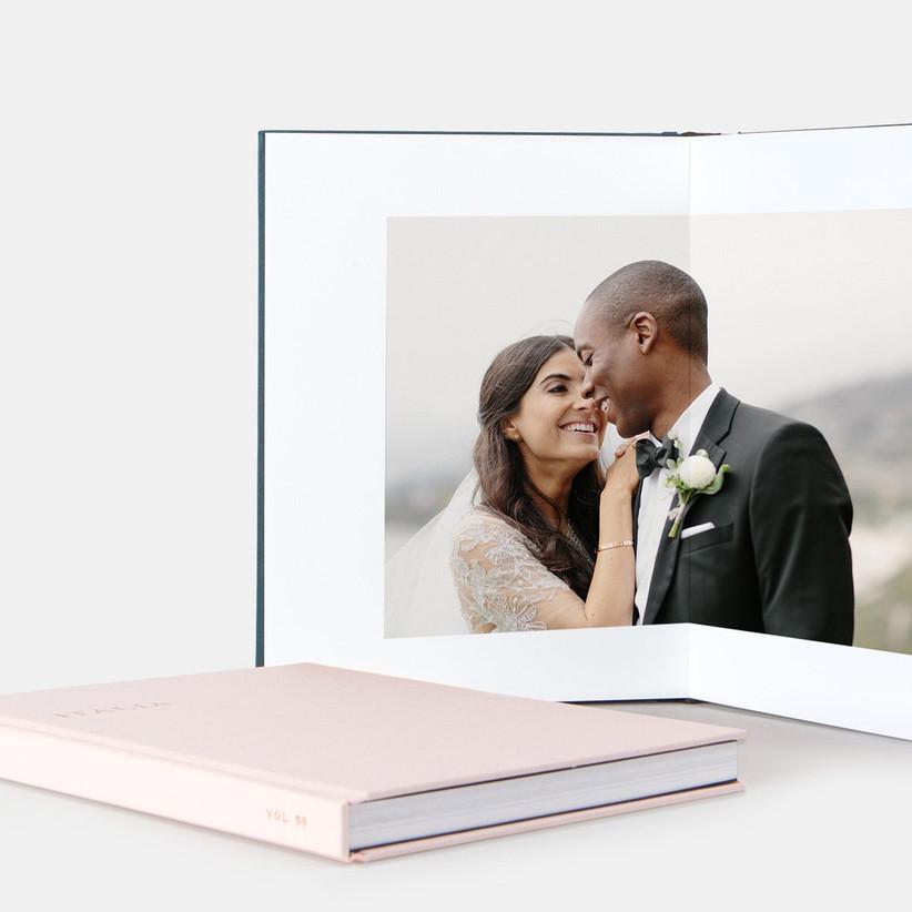 pink photo album