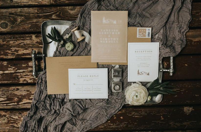 2021 wedding invitation trends eco friendly
