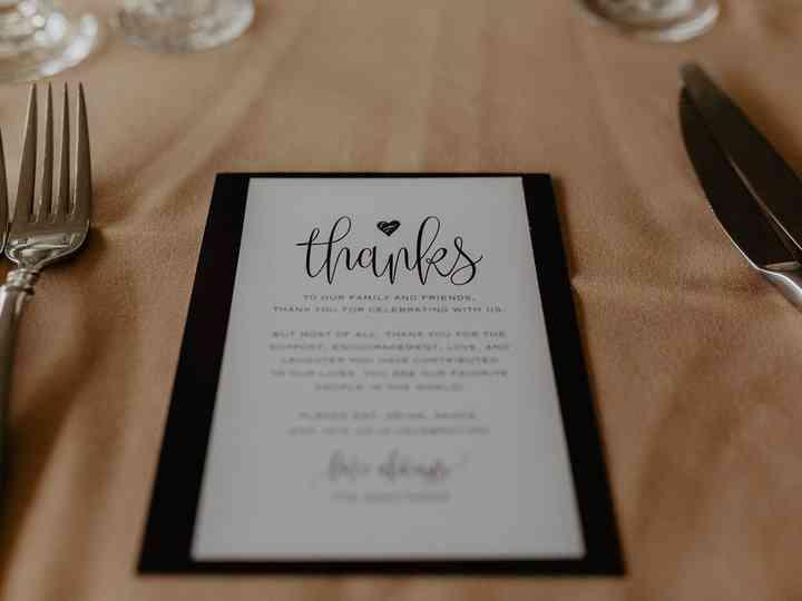 Reception Thank You-Thank You Card-Wedding Reception Thank You-SN029/_TY
