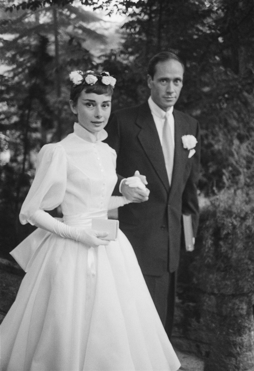Audrey Hepburn's wedding dress