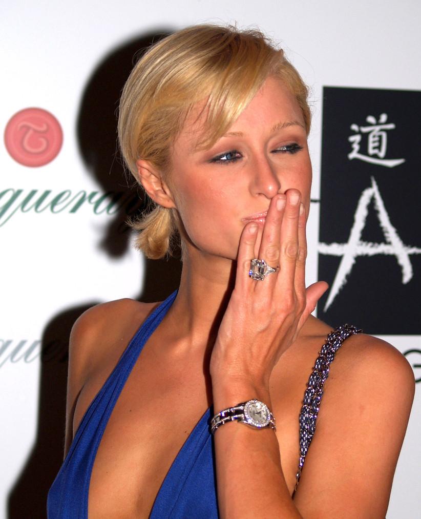 Paris Hilton's engagement ring from Paris Latsis