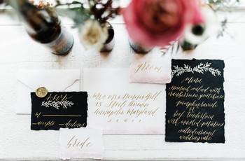 16 Black Wedding Decor Ideas to Bring Out Your Dark Side