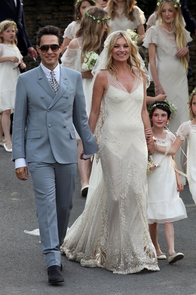 Kate Moss's wedding dress