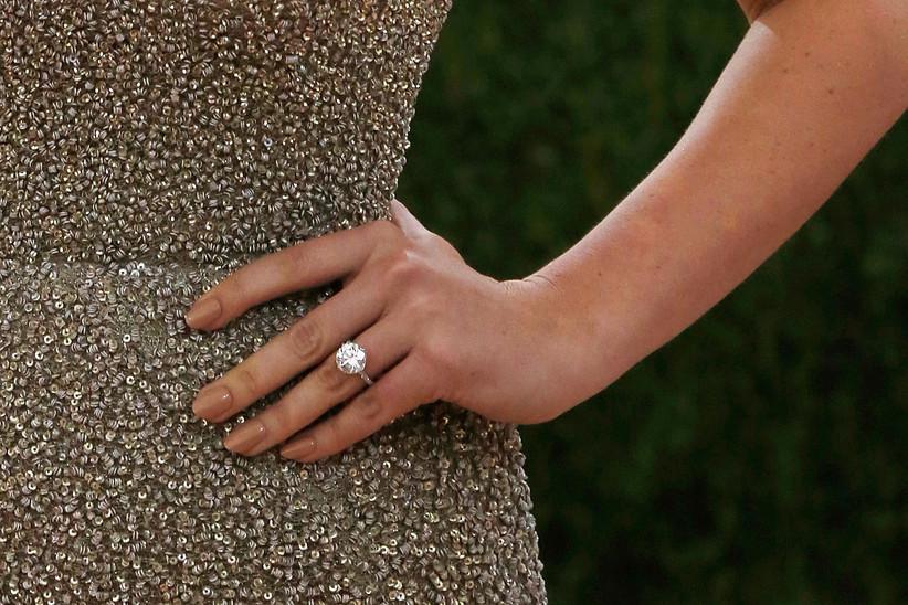 Kate Upton's engagement ring
