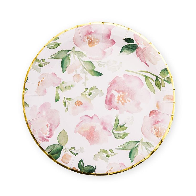garden party plates