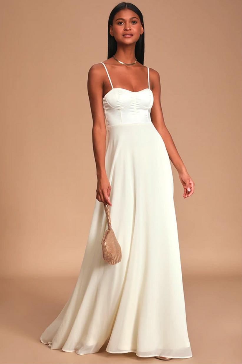 25 Courthouse Wedding Dresses For Your Civil Ceremony Weddingwire,Lace Empire Waist Plus Size Wedding Dresses