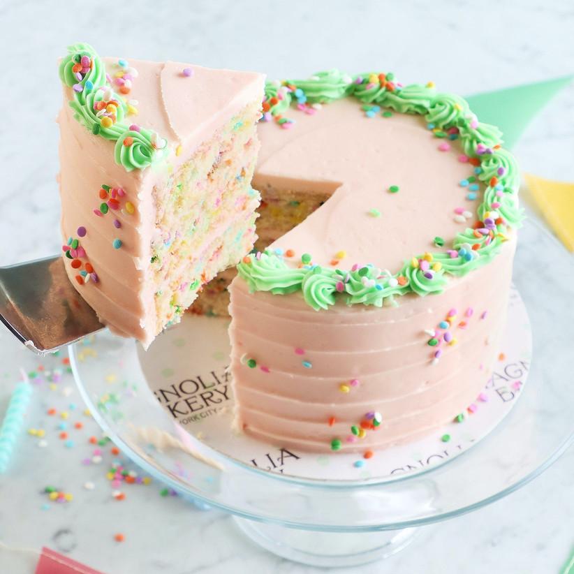 Confetti cake 60th anniversary gift idea