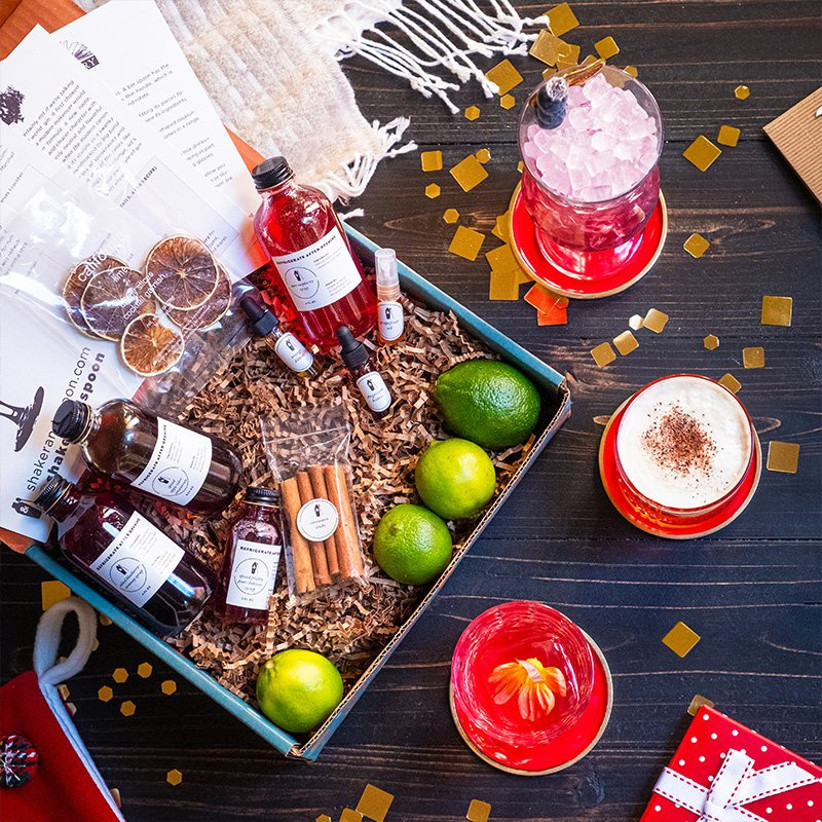 Shaker & Spoon cocktail subscription box gift for daughter-in-law