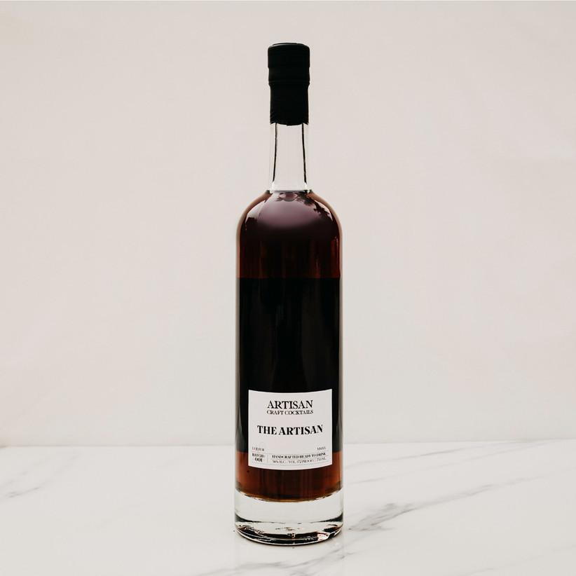 The Artisan 750 ml cocktail bottle