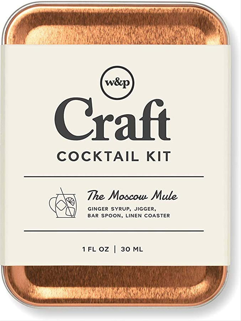 moscow mule craft cocktail kit