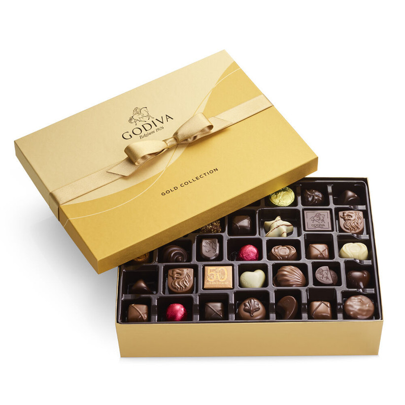 Godiva Gold collection chocolates 60th anniversary gift
