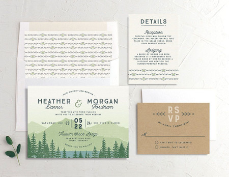 30 Summer Wedding Invitations You Can Buy Online