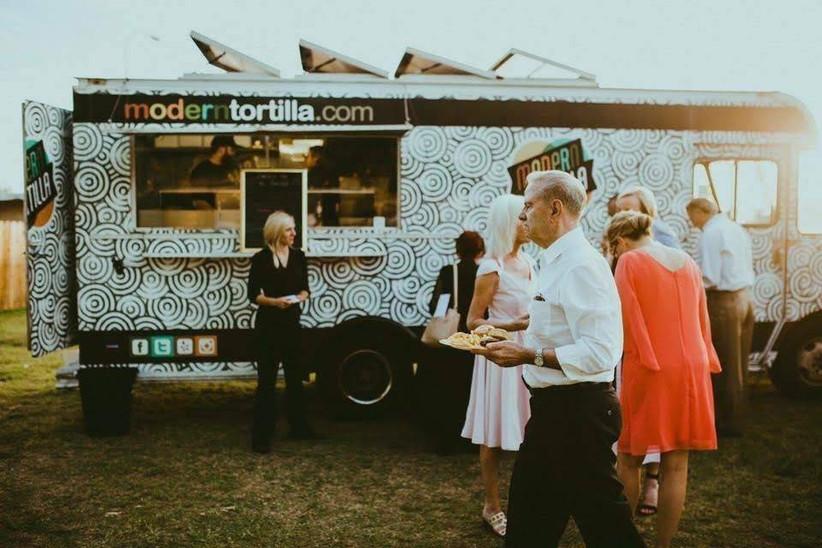 modern tortilla food truck