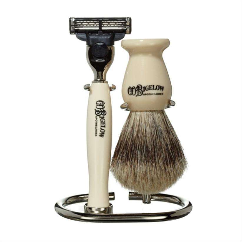 c.o. bigelow ivory shaving set for 14th year wedding anniversary gift