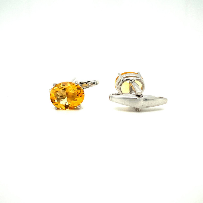 etsy citrine earrings for 13th year wedding anniversary gift