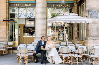 25 Paris-Themed Wedding Ideas That Exude French Grandeur