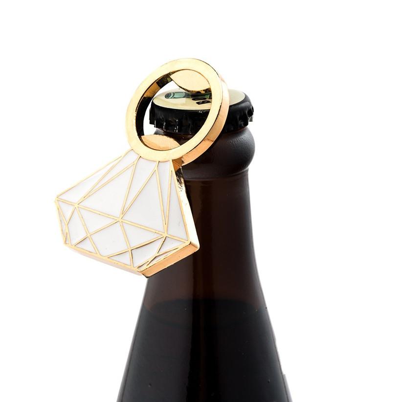 diamond shaped bottle opener