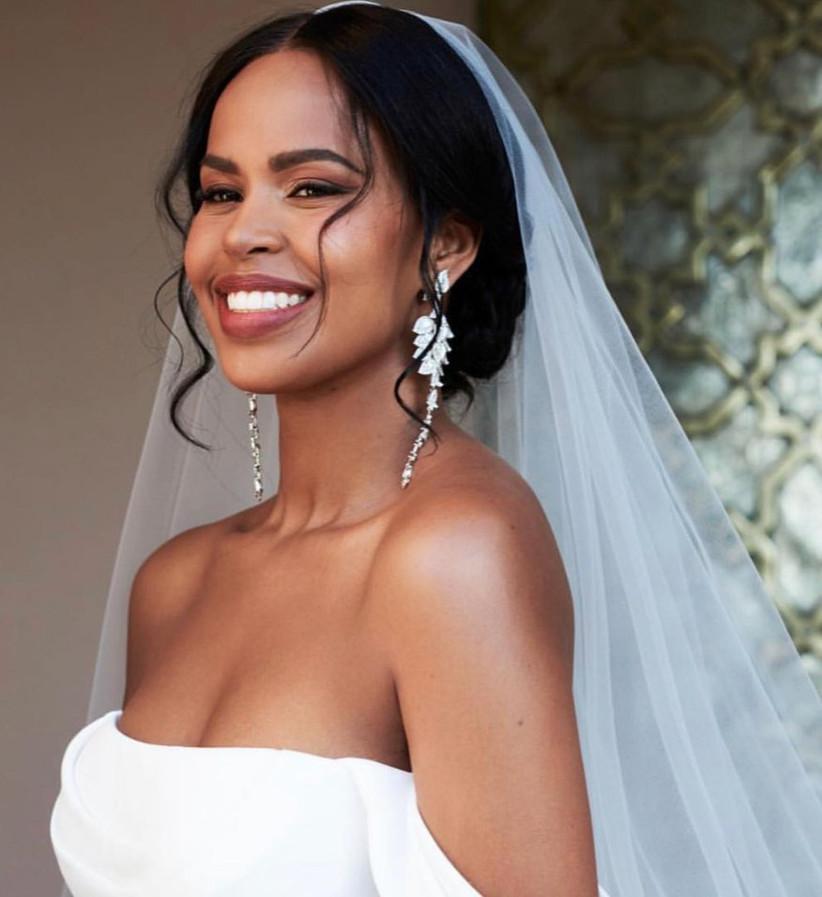sabrina elba wedding hair
