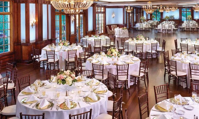 cozy wedding ballroom