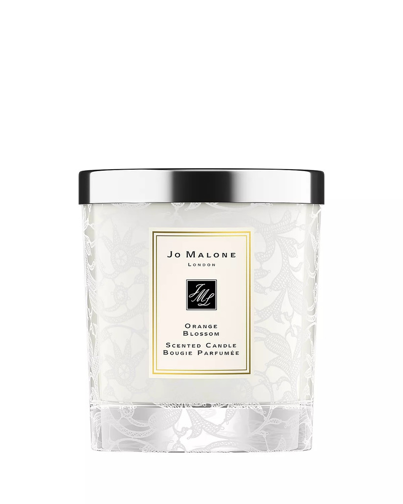 jo malone london orange blossom candle for 13th year wedding anniversary gift