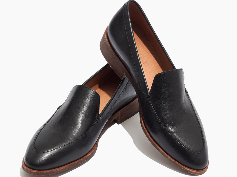Wedding Guest Shoes black loafers