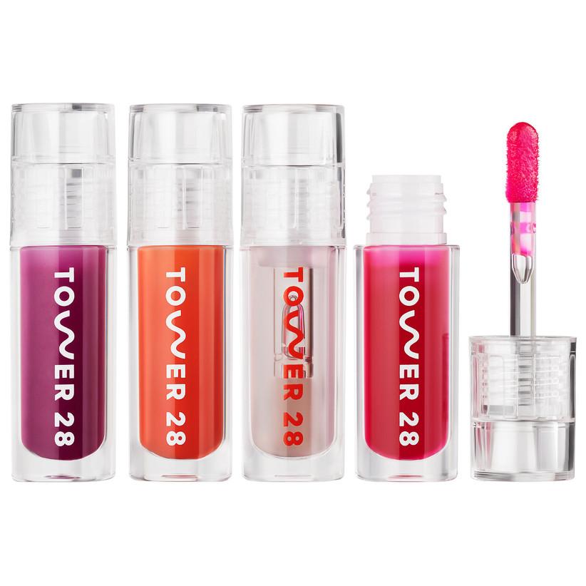 Tower 28 lip gloss kit cute engagement gift idea