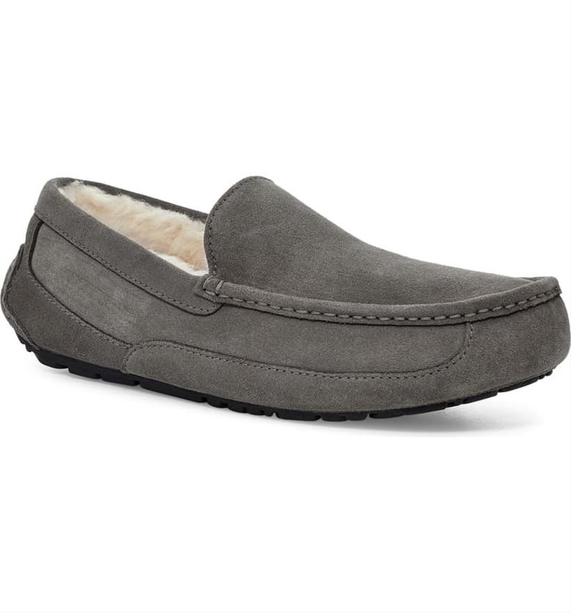 gray ugg slippers