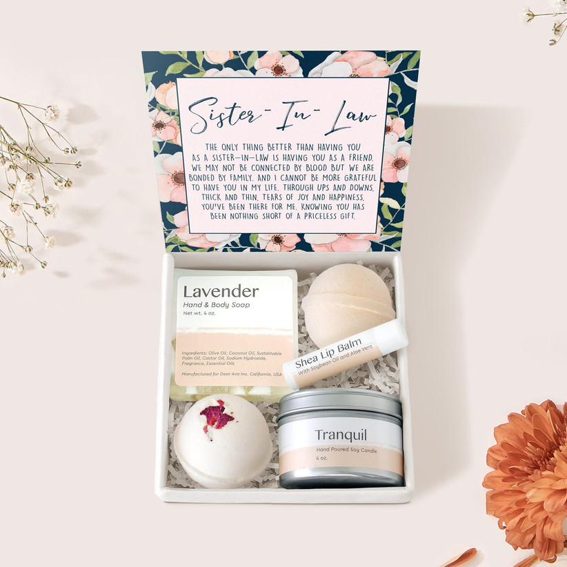 sister in law gift set