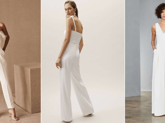 30 White Jumpsuits That Are Cool Bride-Approved