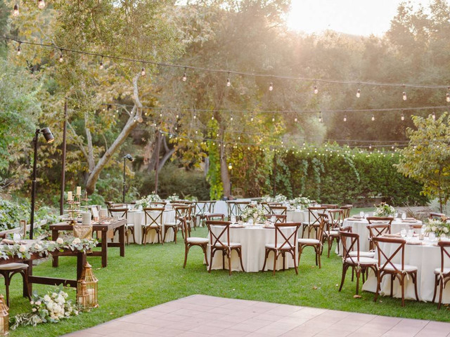 Every Single Thing You'll Need for Your Wedding Reception
