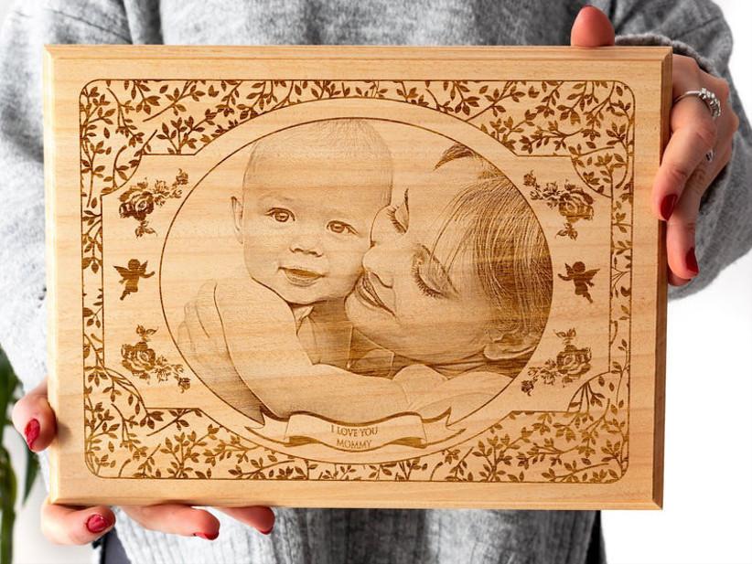 custom wood frame