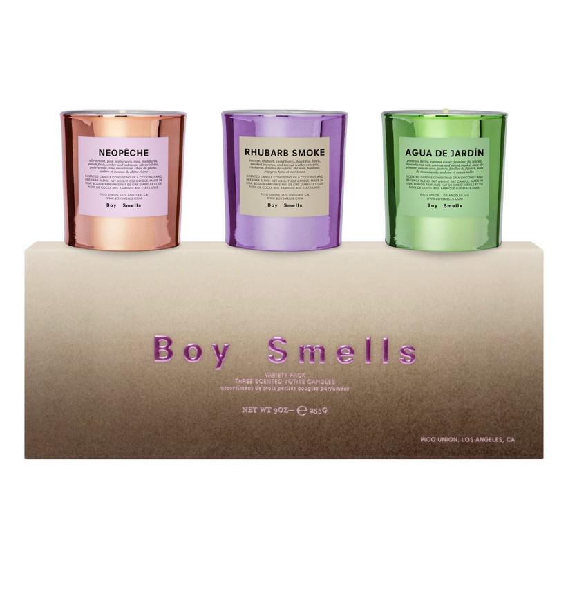 mini votive candles boy smells set