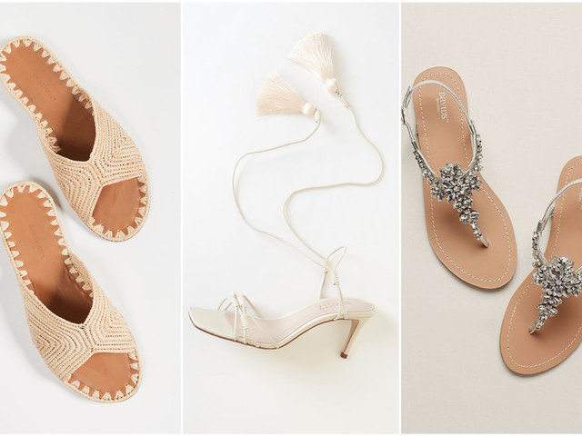 33 Beach Wedding Sandals You Can Definitely Wear Again