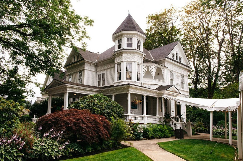 historic home wedding venue
