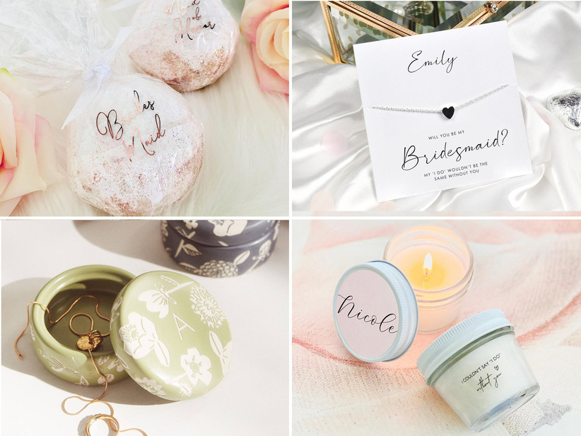 Bridesmaid proposal box gift ideas