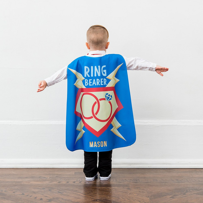 ring bearer cape