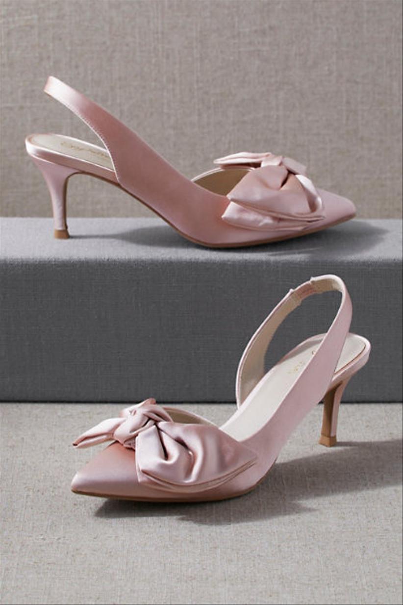 Wedding Guest Shoes satin pumps