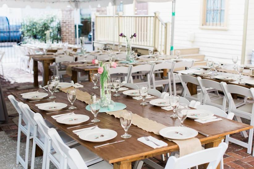 reception area at the whitman savannah