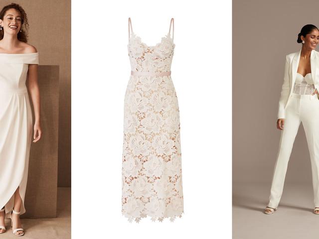 25 Courthouse Wedding Dresses For Your Civil Ceremony Weddingwire,Pencil Wedding Dresses Uk