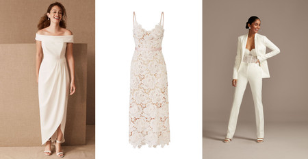 25 Courthouse Wedding Dresses for Your Civil Ceremony