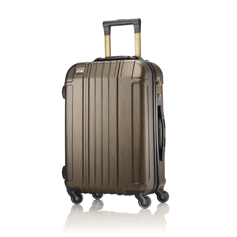 Bronze-hued suitcase 19th anniversary gift idea