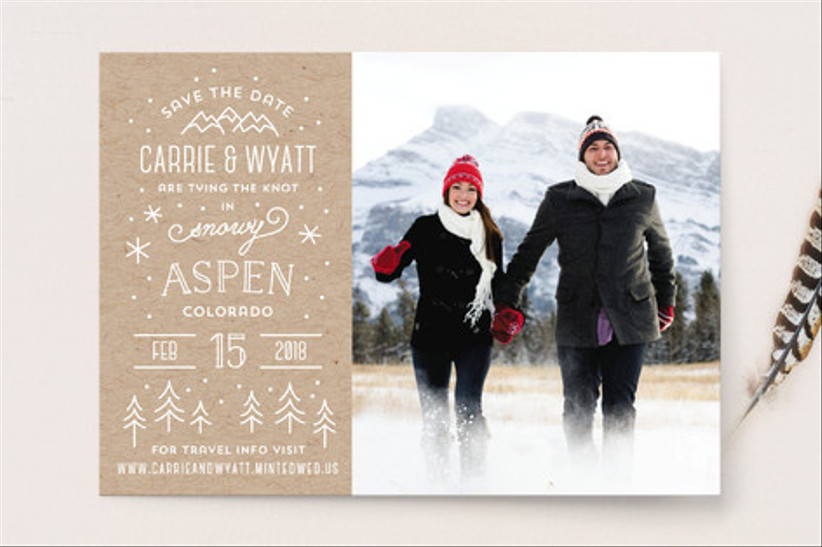 whimsical save the dates