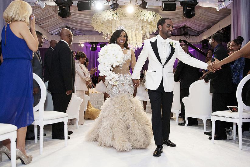 kandi burress wedding